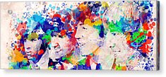 The Beatles Tb Acrylic Print
