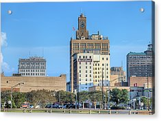 The Beaumont Skyline Acrylic Print by JC Findley