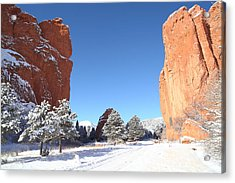 The Beautiful Gate Acrylic Print by Eric Glaser