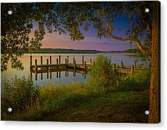 Acrylic Print featuring the photograph The Beautiful Patuxent by Cindy Lark Hartman