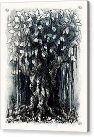 The Beautiful Tree Acrylic Print by Rachel Christine Nowicki