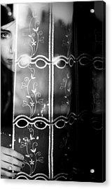 The Beautiful Young Uncertainty Acrylic Print by Luca Ferdinandi