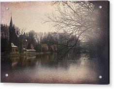The Beauty Of Brugge Acrylic Print by Carol Japp