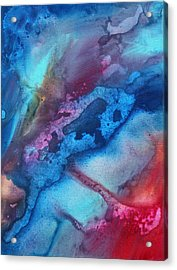 The Beauty Of Color 1 Acrylic Print by Megan Duncanson
