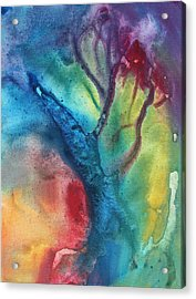 The Beauty Of Color 3 Acrylic Print by Megan Duncanson
