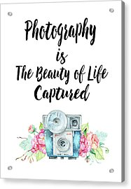Acrylic Print featuring the digital art The Beauty Of Life by Colleen Taylor