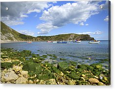 Acrylic Print featuring the photograph The Beauty Of Lulworth Cove by Ian Middleton