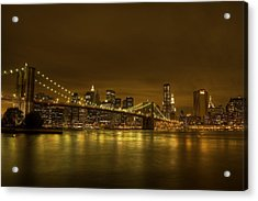 The Beauty Of Manhattan Acrylic Print by Andreas Freund