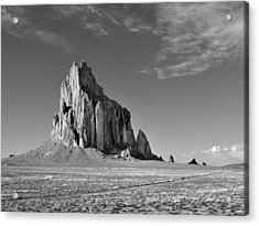 The Beauty Of Shiprock Acrylic Print by Alan Toepfer