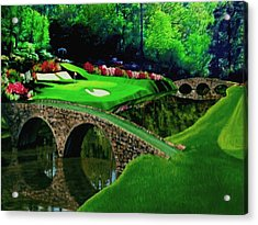 The Beauty Of The Masters Cropped Version Acrylic Print