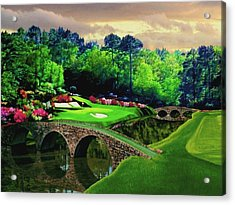 The Beauty Of The Masters Acrylic Print by Ron Chambers