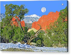The Beauty That Takes Your Breath Away And Leaves You Speechless. That's Colorado.  Acrylic Print