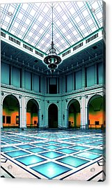 Acrylic Print featuring the photograph The Beaux-arts Court by Chris Lord