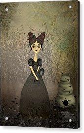 The Bee Keeper Acrylic Print by Charlene Zatloukal
