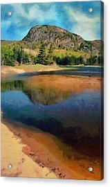 Acrylic Print featuring the painting The Beehive by Jeff Kolker