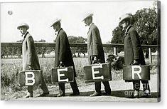 The Beer Boys Acrylic Print
