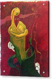 The Beggar Acrylic Print by Alejandro Lopez-Tasso