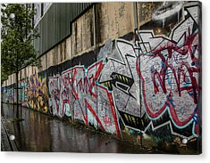 The Belfast Peace Wall Acrylic Print