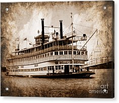 The Belle Of Louisville Kentucky Acrylic Print