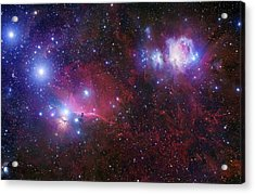 The Belt Stars Of Orion Acrylic Print