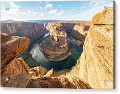 The Bend Acrylic Print by Peter Irwindale
