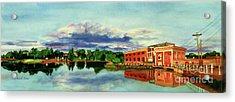 The Best Dam Town In Minnesota Acrylic Print