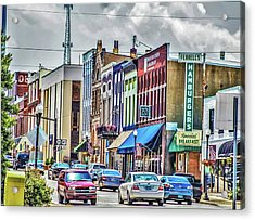 The Best Town On Earth Acrylic Print