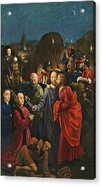 The Betrayal And Arrest Of Christ Acrylic Print