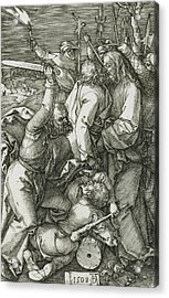 The Betrayal Of Christ Acrylic Print by Albrecht Durer