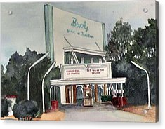 The Beverly Drive Inn Acrylic Print
