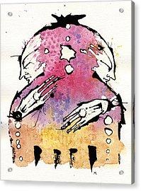 The Bi-polar Acrylic Print by Mark M  Mellon