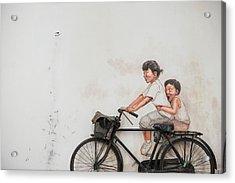 The Bicycle Acrylic Print