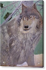 The Big Bad Wolf Acrylic Print by Swabby Soileau