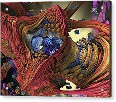 The Big Bang Acrylic Print by Mary Almond