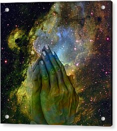 The Big Bang  Two Acrylic Print by Evelyn Patrick