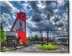 Acrylic Print featuring the photograph The New Big Chicken Hwy 41 Cobb Parkway Art by Reid Callaway