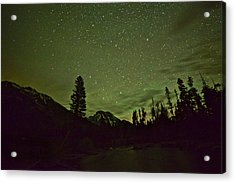 The Big Dipper Over Mount Moran Acrylic Print
