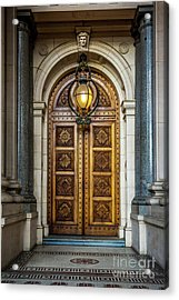 Acrylic Print featuring the photograph The Big Doors by Perry Webster