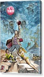 The Big Lebowski Acrylic Print by James Holko