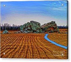 The Big Rock - Hdr Acrylic Print