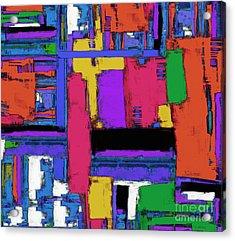 The Big Room Acrylic Print by Keith Mills
