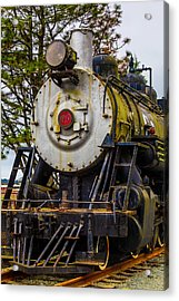 The Big Southern Pacific Lines Engine 90 Acrylic Print by Garry Gay