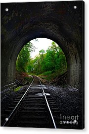 The Big Tunnel Acrylic Print