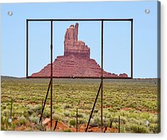 Utah Billboard Acrylic Print