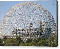 The Biosphere  Ile Sainte-helene Montreal Quebec Acrylic Print