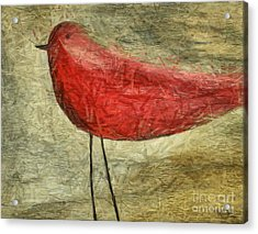 The Bird - Ft06 Acrylic Print by Variance Collections