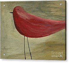 The Bird - Original Acrylic Print by Variance Collections