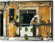 The Bird Cage, Cuba Acrylic Print