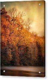 The Birth Of Autumn Acrylic Print by Jai Johnson