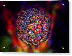 The Birth Of Color Acrylic Print